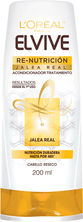 Conditioner 200ml Re Nutricion Acondicionador Tratamiento Elvive Re Nutricion Packshot