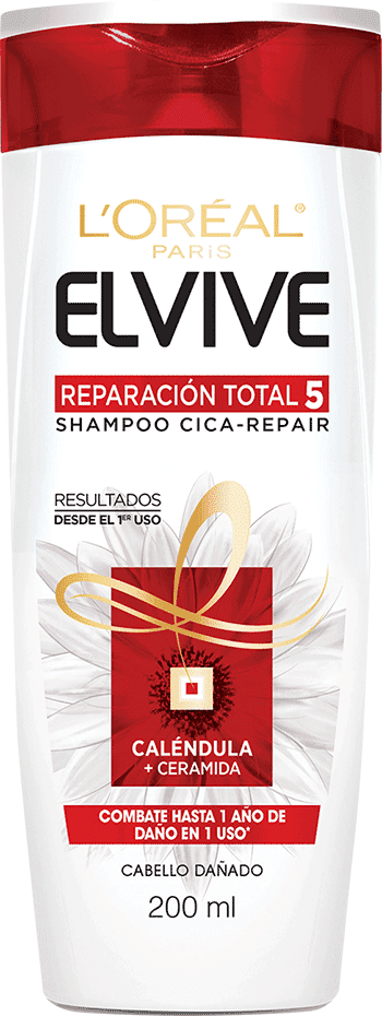 Shampoo 200ml Reparacion Total 5 Shampoo Cica Repair Elvive Reparacion Total 5 Packshot