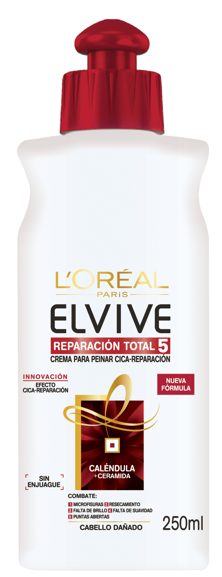 Combing Cream 250ml Re Nutricion Crema Para Peinar Elvive Re Nutricion Packshot