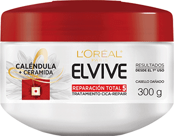 Hair Mask 300ml Reparacion Total 5 Tratamiento Cica Repair Elvive Reparacion Total 5 Packshot