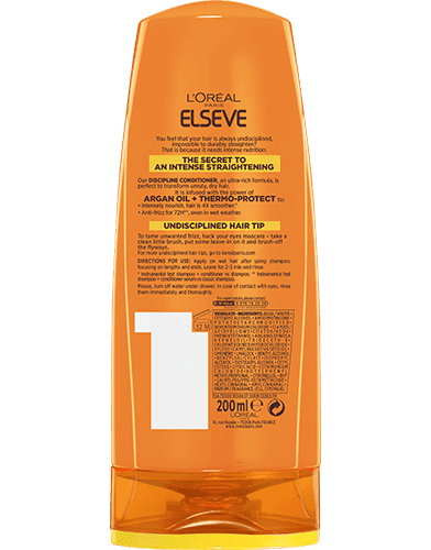 Conditioner Elseve Liss Intense Packshot Back