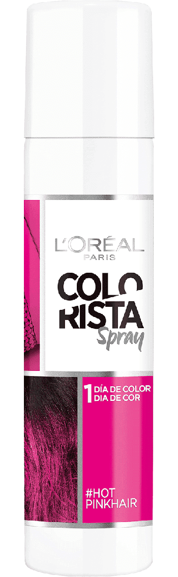 Temporary Hair Color Hot Pink Hair Colorista Packshot