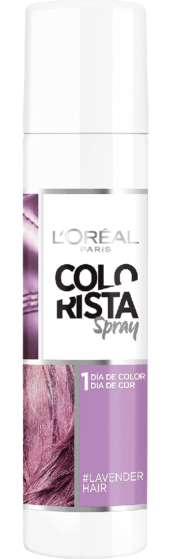 Temporary Hair Color Lavender Hair Colorista Packshot