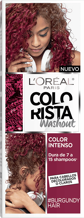 Semi Permanent Hair Color Burgundy Hair Colorista Packshot
