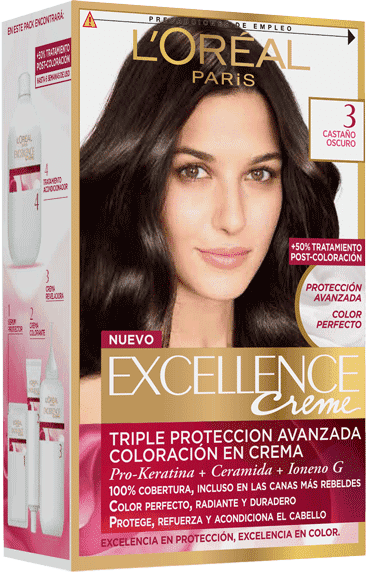 Permanent Hair Color Castano Oscuro Profundo Excellence Packshot
