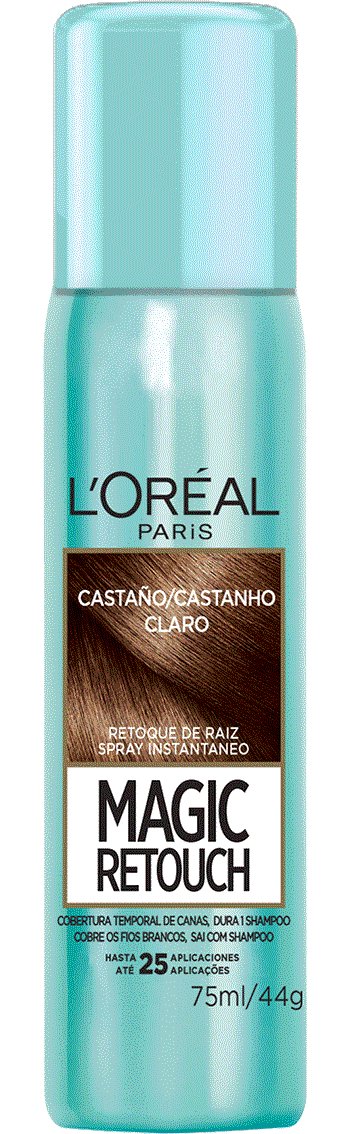 Temporary Hair Color Castano Claro Magic Retouch Packshot