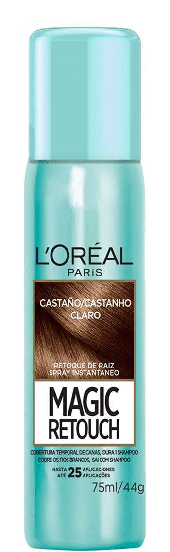 Temporary Hair Color Castano Magic Retouch Packshot