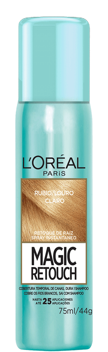 Temporary Hair Color Rubio Claro Medio Magic Retouch Packshot