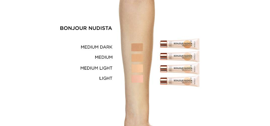 Bonjour Nudista Wake Up And Glow Light Arm Swatch