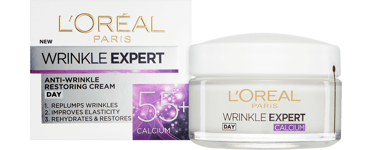 Anti Aging Cream Wrinkle Expert 55 Day Pack And Jar