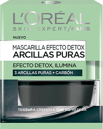 Face Mask Mascarilla Arcilla Pura Carbon Pure Clays Packshot
