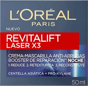 Nightcream Revitalift Laser Noche Crema Anti Arrugas Revitalift Laser X3 Packshot