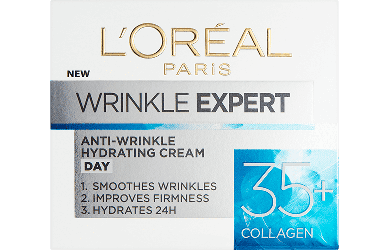 Anti Aging Cream Wrinkle Expert 35 Front Pack